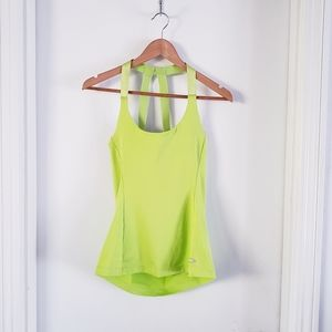 Oakley Athletic  Work Out Tank Top w/ bra Sz SP